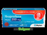 IBUPROFENE MYLAN 200 mg, comprimé enrobé à MONSWILLER