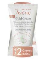 Avène Eau Thermale Cold Cream Duo Crème Mains 2x50ml à MONSWILLER
