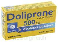 DOLIPRANE 500 mg Comprimés 2plq/8 (16) à MONSWILLER