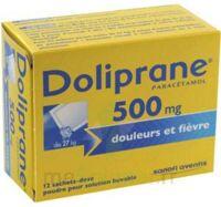Doliprane 500 Mg Poudre Pour Solution Buvable En Sachet-dose B/12 à MONSWILLER