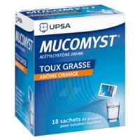 MUCOMYST 200 mg Poudre pour solution buvable en sachet B/18 à MONSWILLER