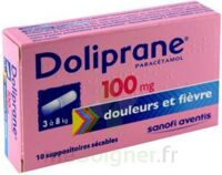 Doliprane 100 Mg Suppositoires Sécables 2plq/5 (10) à MONSWILLER