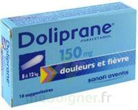 DOLIPRANE 150 mg Suppositoires 2Plq/5 (10) à MONSWILLER