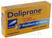DOLIPRANE 200 mg Suppositoires 2Plq/5 (10) à MONSWILLER