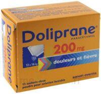 Doliprane 200 Mg Poudre Pour Solution Buvable En Sachet-dose B/12 à MONSWILLER