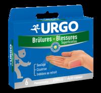 Urgo Brulures-blessures Petit Format X 6 à MONSWILLER