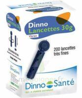 DINNO LANCETTES 30G VITREX, bt 200 à MONSWILLER