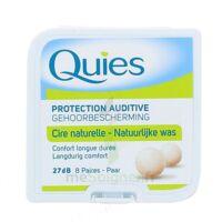 QUIES PROTECTION AUDITIVE CIRE NATURELLE 8 PAIRES à MONSWILLER