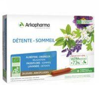 Arkofluide Bio Ultraextract Solution buvable détente sommeil 20 Ampoules/10ml à MONSWILLER