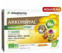 Arkoroyal Immunité Fort Solution Buvable 20 Ampoules/10ml à MONSWILLER