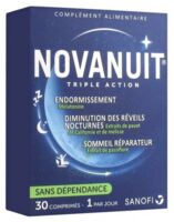 Novanuit Triple Action Comprimés B/30 à MONSWILLER