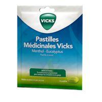 PASTILLES MEDICINALES VICKS Past à sucer menthol eucalyptus Sach/18 à MONSWILLER