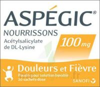 ASPEGIC NOURRISSONS 100 mg, poudre pour solution buvable en sachet-dose à MONSWILLER