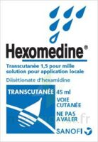 HEXOMEDINE TRANSCUTANEE 1,5 POUR MILLE, solution pour application locale à MONSWILLER
