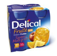 DELICAL BOISSON FRUITEE Nutriment multi fruits 4Bouteilles/200ml à MONSWILLER