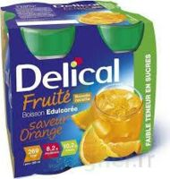 Delical Boisson Fruitee Nutriment édulcoré Orange 4bouteilles/200ml à MONSWILLER