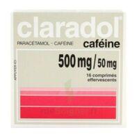 Claradol Cafeine 500 Mg/50 Mg, Comprimé Effervescent à MONSWILLER