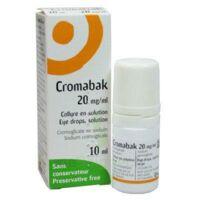CROMABAK 20 mg/ml, collyre en solution à MONSWILLER