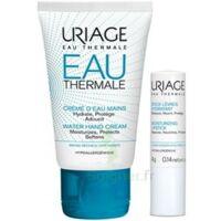 Uriage Eau Thermale Crème d'eau mains T/30ml+Stick lèvres à MONSWILLER
