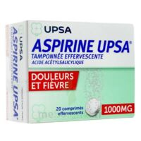 ASPIRINE UPSA TAMPONNEE EFFERVESCENTE 1000 mg, comprimé effervescent à MONSWILLER