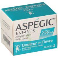 ASPEGIC ENFANTS 250, poudre pour solution buvable en sachet-dose à MONSWILLER