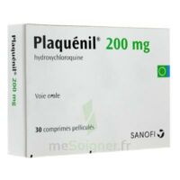 PLAQUENIL 200 mg, comprimé pelliculé à MONSWILLER