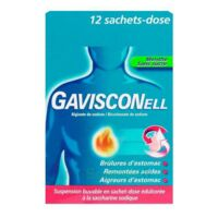 GAVISCONELL Suspension buvable sachet-dose menthe sans sucre 12Sach/10ml à MONSWILLER