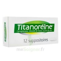 Titanoreine Suppositoires B/12 à MONSWILLER