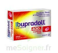 IBUPRADOLL 400 mg Caps molle Plq/10 à MONSWILLER