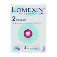 LOMEXIN 600 mg Caps molle vaginale Plq/2 à MONSWILLER