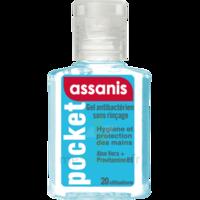 Assanis Pocket Gel antibactérien mains 20ml à MONSWILLER