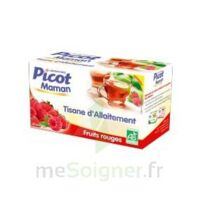 Picot Maman Tisane d'allaitement Fruits rouges 20 Sachets à MONSWILLER
