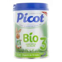 Picot Bio 3 Lait en poudre 800g à MONSWILLER