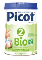 Picot 2 Bio Lait en poudre 800g à MONSWILLER