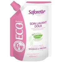 Saforelle Solution Soin Lavant Doux Eco-recharge/400ml à MONSWILLER