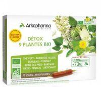 Arkofluide Bio Ultraextract Solution buvable détox 9 Plantes 20 Ampoules/10ml à MONSWILLER