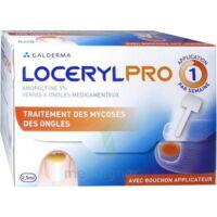 LOCERYLPRO 5 % V ongles médicamenteux Fl/2,5ml+spatule+30 limes+lingettes à MONSWILLER