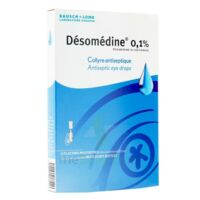 DESOMEDINE 0,1 % Collyre sol 10Fl/0,6ml à MONSWILLER