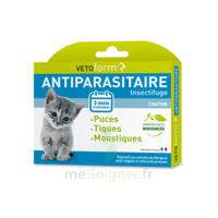 Vetoform Pipettes Antiparasitaire Chaton 3x0,4ml à MONSWILLER