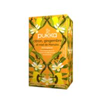 Pukka Bio Citron, Gingembre Et Miel De Manuka Tisane Immunité Citron Gingembre Miel De Manuka 20 Sachets à MONSWILLER