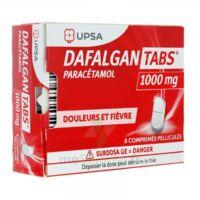 Dafalgantabs 1 G Cpr Pell Plq/8 à MONSWILLER